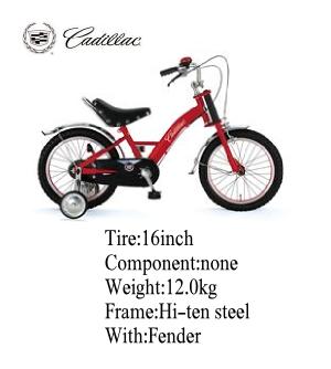 CHIBI(チビ) 子供用自転車 CADILLAC(キャデラック) 16インチ レッド00