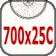 700x25c